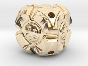 Looper D6 in 14K Yellow Gold