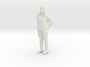 Printle C Femme 387 - 1/87 - wob in White Natural Versatile Plastic
