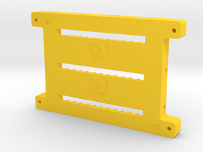 BASE SOPORTE HABTASABHD in Yellow Processed Versatile Plastic