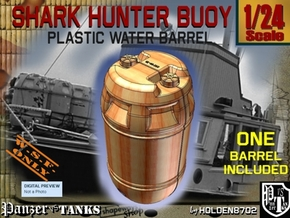 1-24 Shark Hunter Barrel in Black Natural Versatile Plastic