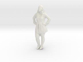 Printle C Femme 401 - 1/87 - wob in White Natural Versatile Plastic