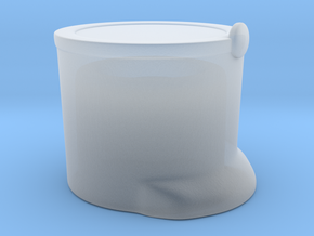French Shako T  in Smooth Fine Detail Plastic