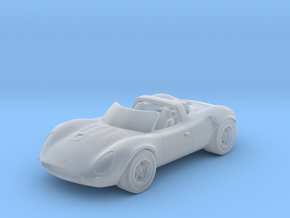 Jaguar XJ13     1:87  HO in Smooth Fine Detail Plastic