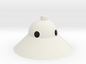 UFO Light in White Natural Versatile Plastic