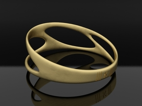 bracelet ||| K ||| SERIES in Raw Brass