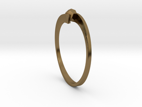 Game Changer Ring in Polished Bronze