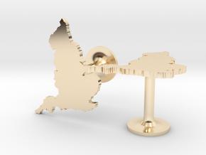 England Cufflinks in 14k Gold Plated Brass