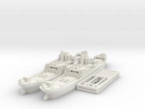 EFC 1020 'Laker' WW1 Freighter 1/600 & 1/700 in White Natural Versatile Plastic: 1:700