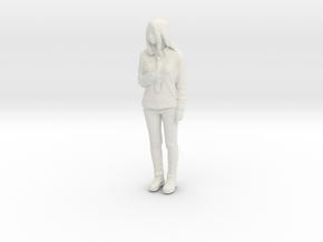 Printle C Femme 451 - 1/87 - wob in White Natural Versatile Plastic