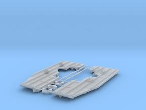 EC-135 Snow Skids  1/32 in Smoothest Fine Detail Plastic
