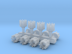 1/24 Scale Hollowed Distributor Bundle (12 Pack) in Smooth Fine Detail Plastic