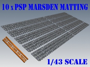 1-43 X10 PSP Marsden Matting in White Natural Versatile Plastic