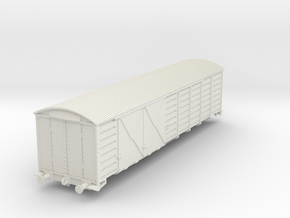 "Box Car ""Q"" Class  2nd Series in White Strong & Flexible"