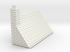 Z-152-lr-comp-stone-t-house-roof-lc-nj in White Natural Versatile Plastic
