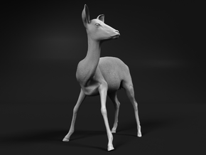 Impala 1:72 Watchful Female While Drinking in Smooth Fine Detail Plastic