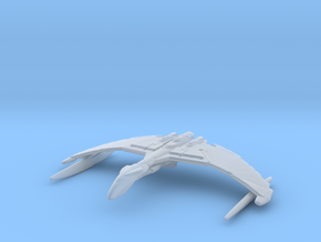 Romulan Valdore Type Warbird 1/15000 Attack Wing in Frosted Ultra Detail