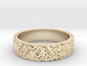 Flux in 14K Yellow Gold