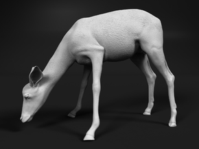 Impala 1:20 Drinking Female in White Natural Versatile Plastic