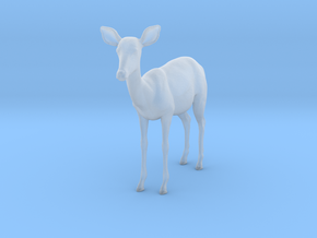 Impala 1:22 Standing Female in Smooth Fine Detail Plastic