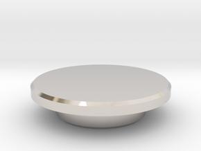 Fidget Spinner Caps in Platinum