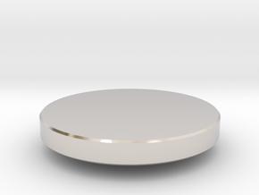 Fidget Spinner Bearing Covers in Platinum