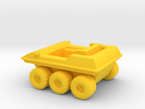 Mini-Mates Moon Buggy (Space: 1999) HOLLOWED in Yellow Processed Versatile Plastic