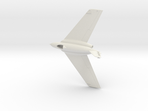 Northrop X-4 in White Natural Versatile Plastic