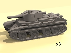 1/160 BT-7 tanks in Frosted Ultra Detail