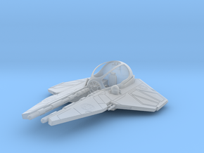 1/72 Eta-2 Actis-class Jedi Interceptor Dock Md. in Smooth Fine Detail Plastic