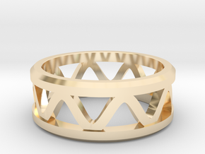 Corrugated Ring  in 14K Yellow Gold: 5 / 49