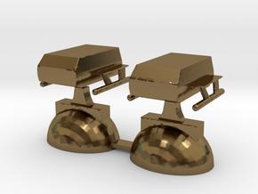 Star Trek Rooks (1) in Polished Bronze