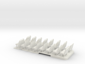 1:43 London Transport RF Central/Country Floor & S in White Natural Versatile Plastic