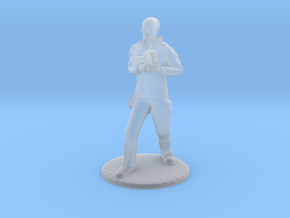 SG Male Soldier Walking 35mm new in Smooth Fine Detail Plastic
