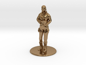 SG Female Standing 35 mm new in Natural Brass