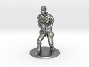 SG Male Soldier Creeping 35 mm new in Natural Silver