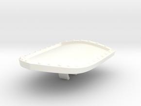 MOTUC Castle Grayskull Entrance Shield in White Processed Versatile Plastic