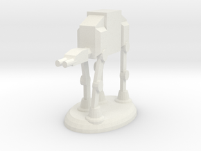Star Wars Rook in White Natural Versatile Plastic