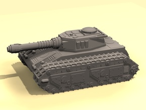 15mm MST Tiran tank in White Strong & Flexible