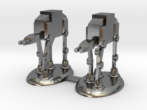Star Wars Rooks in Polished Silver