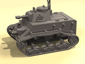 15mm Kimmerian APC IFV in White Strong & Flexible Polished