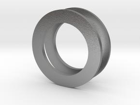 Fidget Spinner Tourus 2z Caps in Natural Silver