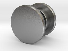 Fidget Spinner Tourus Center Caps in Natural Silver