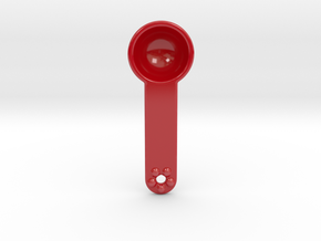 "Teaspoon ""flower"" in Gloss Red Porcelain"