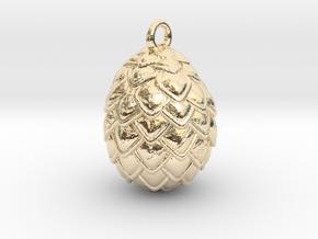 Dragon Egg Pendant in 14K Yellow Gold