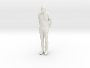 Printle C Homme 766 - 1/24 - wob in White Natural Versatile Plastic