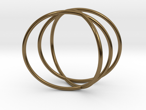 The Sixth Sense Ring in Polished Bronze