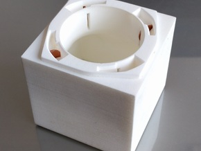 Penny Box Large in White Strong & Flexible