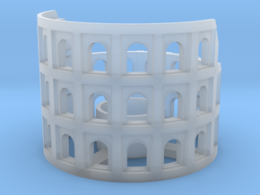 Colosseum in Smooth Fine Detail Plastic: Medium