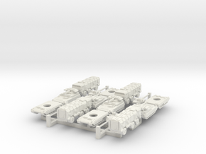 1-350 Ultramodern Russians For MikeDB in White Natural Versatile Plastic