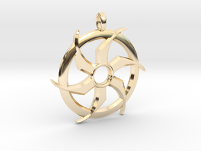 SACRED WINGSTAR ONE in 14K Yellow Gold